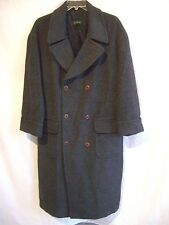 J. CREW Gray 60% Alpaca, 40% Wool DB Coat sz L