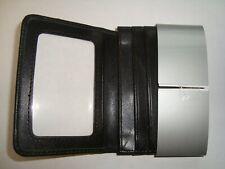 Samsonite Leather Business Card Holder 4 116 X 3 X 12 Black New