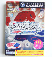 Pokemon Box Ruby And Sapphire Japanese Version GameCube