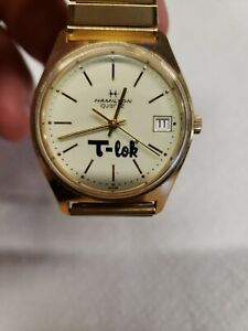 Men's Vintage HAMILTON Wrist Watch NICE Runs Great, retirement piece