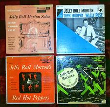 "Jelly Roll Morton, 10"" record set, 4 Records, Riverside, X, Columbia"