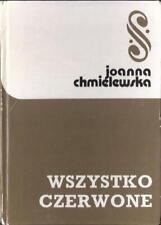 Wszystko czerwone Joanna Chmielewska