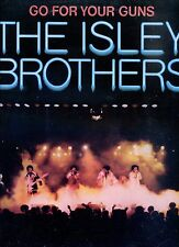 THE ISLEY BROTHERS go for your guns CANADA 1977 EX LP + INLAY