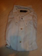 NEW $220+ IKE BEHAR Mens Dress SHIRT XL 17 17.5 34 35 Made Canada Cotton