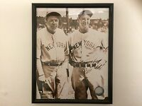 Photo BABE RUTH & LOU GEHRIG New York Yankees Official Major League Baseball