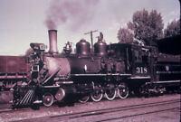 Duplicate Slide Denver & Rio Grande Western RR D&RGW 318 Steam Engine 2-8-0