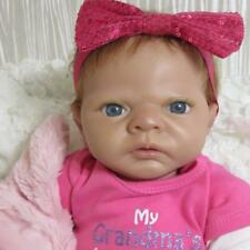 "Ashton Drake So Truly Real Linda Webb Silicone Vinyl 20"" Emily Newborn Baby Doll"