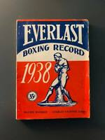 1938 Everlast Boxing Record Good Condition