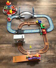Paw Patrol Lot Railway Train /Launch N Roll Tower Tracks , Figures & Racers Lot