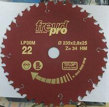 Freud LP30M022 235x2,8x25 Pro Ind Lama Circolare per macchine portatili