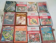 26 NEW W/Crushed or damaged boxes Unused Atari 2600 Games Stargate Gravitar
