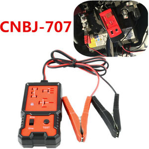 Portable Small Size 12V CNBJ-707 Fast Electronic Automotive Relay Tester Checker