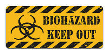Biohazard Keep Out - Metal Sign