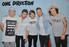 ONE DIRECTION - A1 Poster (XXL - 80 x 55 cm) - Clippings Fan Sammlung NEU
