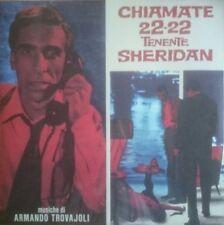 Armando Trovajoli Chiamate 22-22 Tenente Sheridan OST LP 1960 Four Flies