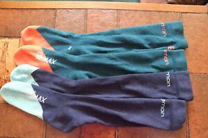 2 Pairs Salomon S/Max Skiing Snowboarding Socks Winter Sport Socks 7-10