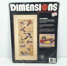 Dimensions Counted Cross Stitch Kit Waterbirds 3732 New Sealed