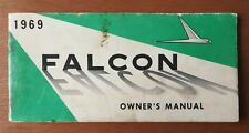Original 1969 Ford Falcon Owner's Manual