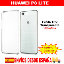 Funda protectora TPU transparente Huawei P8 Lite