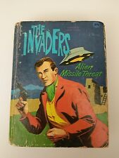 BIG LITTLE BOOK SERIES-THE INVADERS-ALIEN MISSLE THREAT #12-1967 (HARD COVER)
