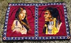 Vtg 70s 80s Wall Hanging Tapestry Native American Southwest design