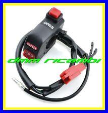 Comando elettrico Moto universale pulsanti Avviamento/Arresto Motore Start Stop
