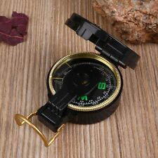 Metal Pocket Army Style Compass Military Camping Hiking Survival Marching  AU