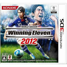 NINTEND DS NDS Import Japan 3DS Winning Eleven  2012