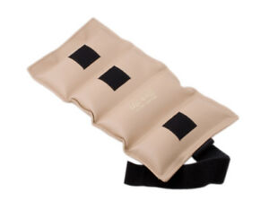 The Cuff Deluxe Ankle and Wrist Weight - 15 lb - Tan