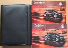 GENUINE VAUXHALL ASTRA OWNERS MANUAL HANDBOOK PACK 2009 - 2012 PACK 15967