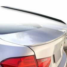 Fyralip S Style Trunk Lip Spoiler For BMW 3 Series F30 Sedan 12-18 Unpainted
