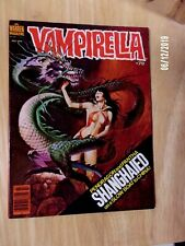 VAMPIRELLA #79 SHARP F/VF GLOSSY 1979 GREAT DRAGON COVER,PANTHA,FUNGUS MORE