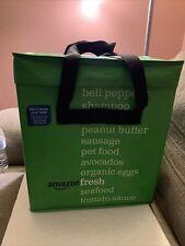 Amazon Fresh Reusable Folding Green Tote Bag Collectible Discontinued Prime Rare