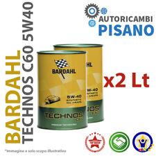 2 LITRI DI OLIO MOTORE ORIGINALE BARDAHL 5W40 C60 TECHNOS EXCEED 322040