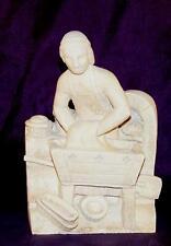 Statuette médiévale Pierre - décoration médiévale - Boulanger médiéval