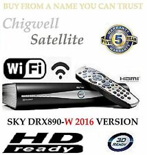 SKY PLUS + HD BOX WIFI - 500GB - SKY AMSTRAD DRX890W BUILT IN WIRELESS ON DEMAND