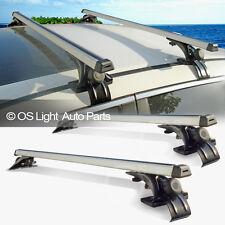 Sedan/Hatchback/Coupe/Wagon Roof Top Rail-Less Crossbar Rack Carry Cross Bars