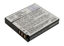 3.7 V Batteria per Panasonic Lumix dmc-fx35eg-w, dmw-bce10pp, CGA-S008, sdr-sw20s