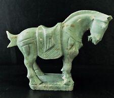 """7"""" Jade Saddled Tang Horse (LH8)"""
