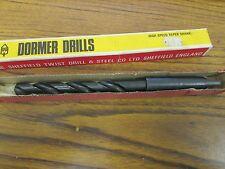 """DORMER Sheffield Twist Drill 1/2"""" HSS Taper Shank Drill"""