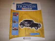 SAGA TRACTION CITROEN 55 TRACTION 15 SIX RALLYE 1954 Les PREMIERES PUBLICITES