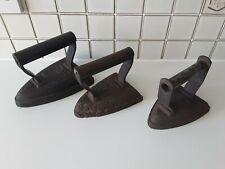 Vintage Hand Irons Bundle Doorstops