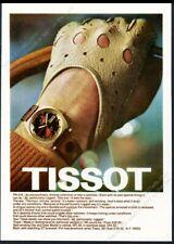 1970 Tissot PR-516 watch color photo vintage print ad