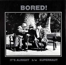 BORED! it's alright / supernaut 45RPM 1989 Glitterhouse