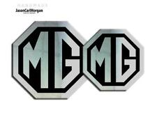MG TF 2009 Onward Emblem Badge Inserts Front Rear 70mm 90mm Chrome Black Badges