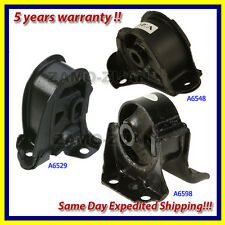 fits: 1989-1991 Honda Prelude 2.0/ 2.1L Motor & Trans. Mount Set 3PCS For Auto