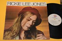 RICKIE LEE JONES LP SAME 1°ST ORIG USA 1979 EX ! AUDIOFILI !