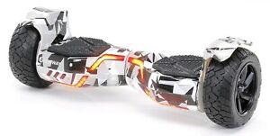 ROBWAY X2 SUV-Hoverboard fürs Gelände, 8.5 Zoll, Balance Bluetooth Miweba