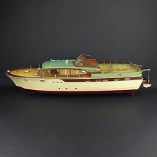 "Rare Vintage 32"" Plastic Chris Craft Model Boat Assemble Parts or Repair"