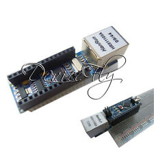 Mini ENC28J60 Ethernet Shield Board For Arduino Nano v3.0 RJ45 Webserver Module